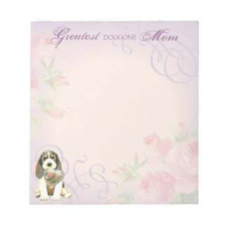 PBGV Heart Mom Notepad