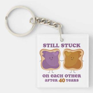 PBJ 40th Anniversary Key Ring