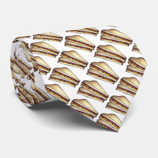 PBJ Peanut Butter and Jelly Sandwich Foodie Tie