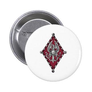 PBP Color Crest 6 Cm Round Badge