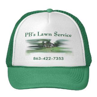 """PB's Lawn Service"" Trucker Hat"