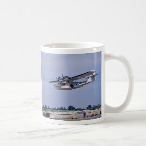 PBY, 5A Catalina, World War II reconnaissance flyi Coffee Mugs