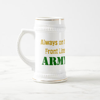 PC010061, Always on the Front Line, ARMY Beer Stein