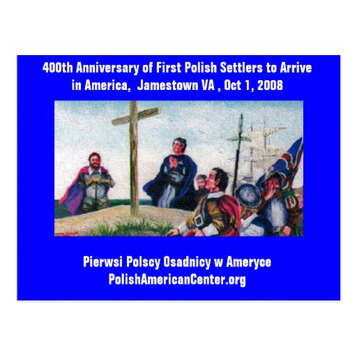 PC 400th Anniversary First Polish Settlers Postcards