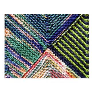pc Artisanware Knit Post Card