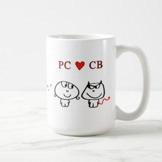 """""""PC CB"""" COFFEE MUG"""