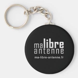 PC. My Free Antenna - Black Keychains