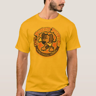 PC Pound Puppies Round Improving l... - Customized T-Shirt