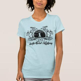 PCH Highway Sign -Grunge Tee Shirt