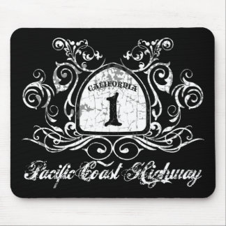 PCH Highway Sign Mouse Pads