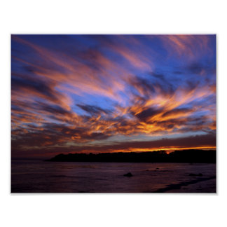 PCH Sunset -Cambria Poster