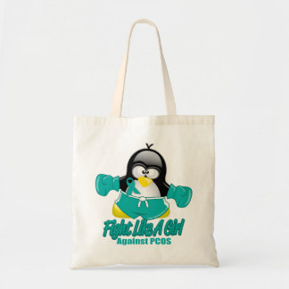 PCOS Fighting Penguin Tote Bag