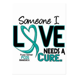 PCOS Needs A Cure 2 Postcard