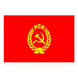 PCR flag Postcard
