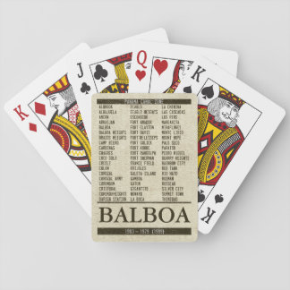 PCZ List & Your Town / Base / Post Playing Cards