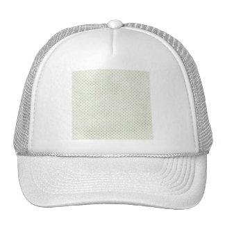 PD18 LIGHT TEAL POLKADOTS PATTERN  FASHIONABLE COL TRUCKER HATS