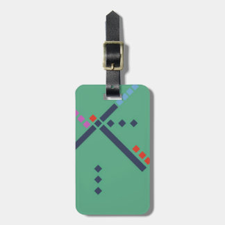 PDX Airport Carpet Luggage Tag