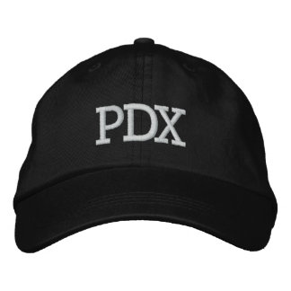 PDX Hat Embroidered Baseball Cap