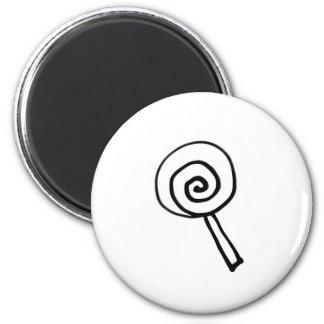 pe ro pe ro candy 6 cm round magnet