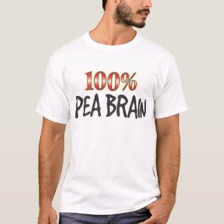 Pea Brain 100 Percent T-Shirt