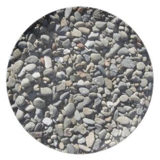 Pea gravel Basalt Plate