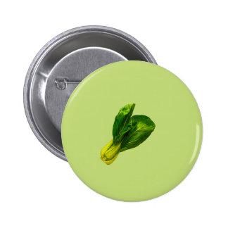 Pea Green Bok Choy Button