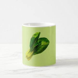 Pea Green Bok Choy Coffee Mug