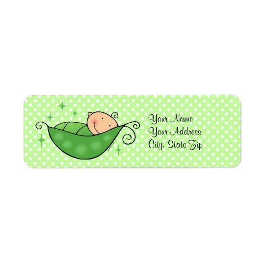 Pea In My Pod Custom Label