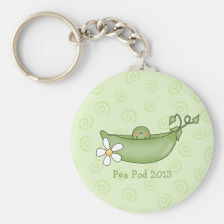 Pea in the Pod Keychain