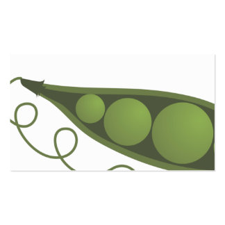 pea pod catering chef restuarant business card