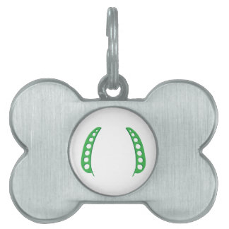 Pea Pod Frame Pet Name Tag