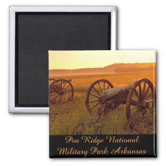 Pea Ridge National Military Park Arkansas Square Magnet