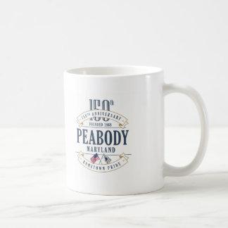 Peabody, Massachusetts 150th Anniversary Mug