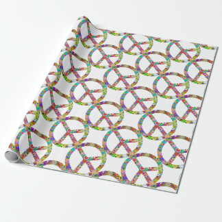 peace11 wrapping paper