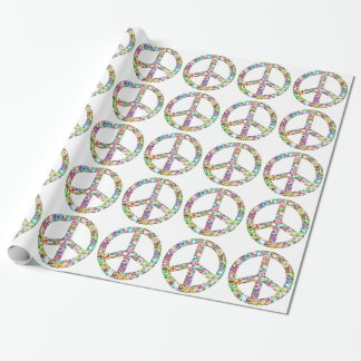 peace12 wrapping paper