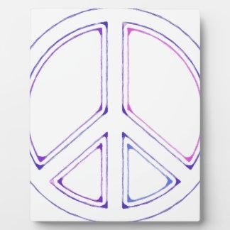 peace16 plaque