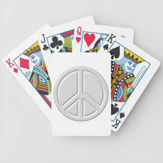 peace18 bicycle playing cards