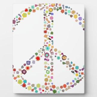 peace21 plaque