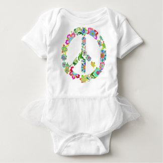 peace9 baby bodysuit