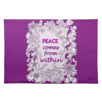 Peace 2 placemat