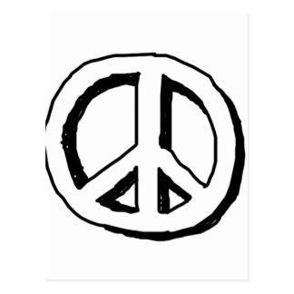 Peace -33 postcard