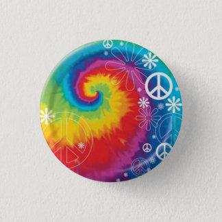 peace 3 cm round badge