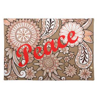 Peace 3 placemat