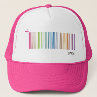 Peace 9 trucker hat