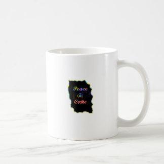 Peace A @ cake Coffee Mugs