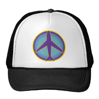 Peace Airplane- Widespread Panic Mesh Hats