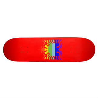 PEACE Albanian Eagle 20.6 Cm Skateboard Deck