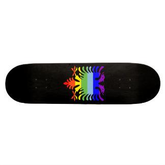 PEACE Albanian Eagle Skate Board Deck
