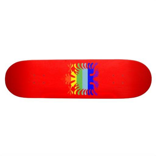 PEACE Albanian Eagle Custom Skateboard
