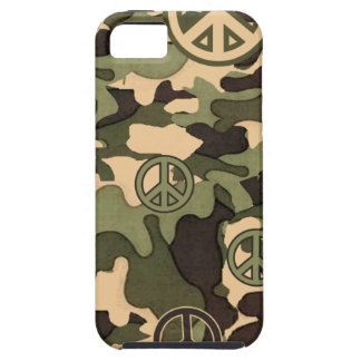 Peace and Camouflage iPhone 5 Covers